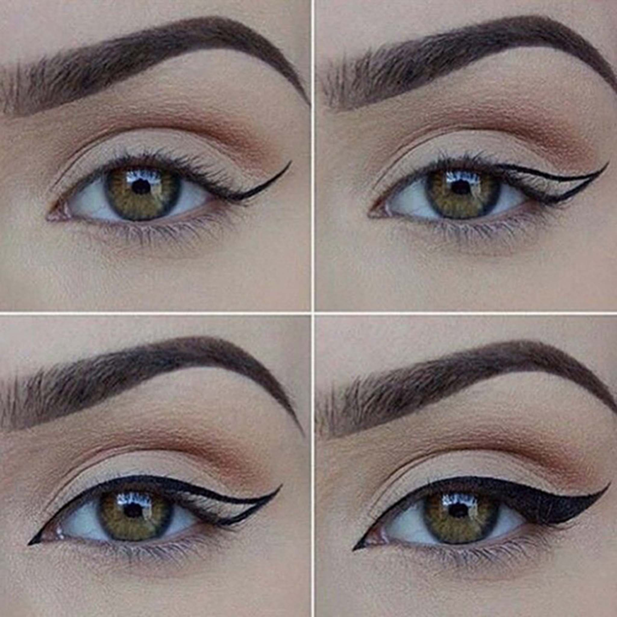 How To Perfect The Cat Eye With Detailed Steps And Pictures