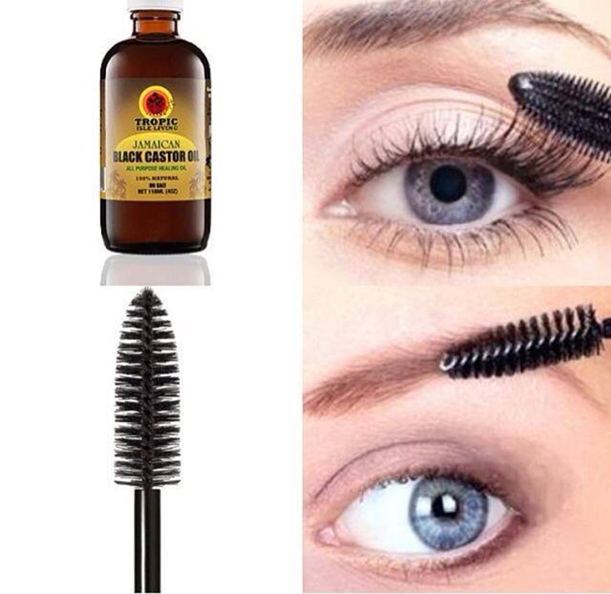 Benefits Of Castor Oil For Thickening And Regrowing Eyebrows And