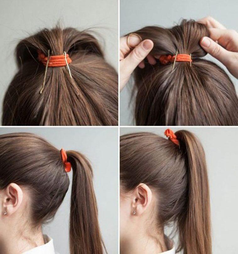 Как из длинных волос сделать прическу на каждый день