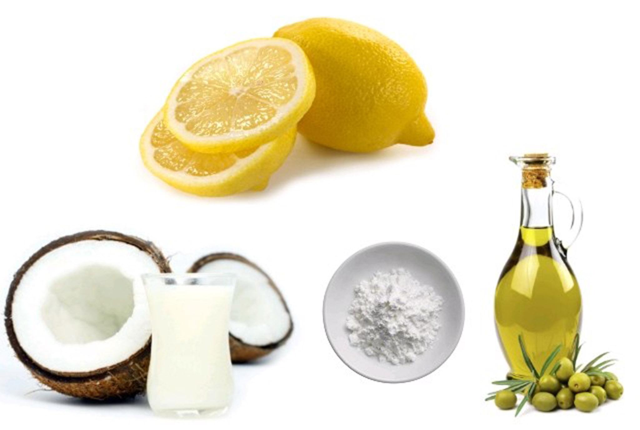 Coconut-Milk-Olive-Oil-Cornstarch-And-Lemon-Juice
