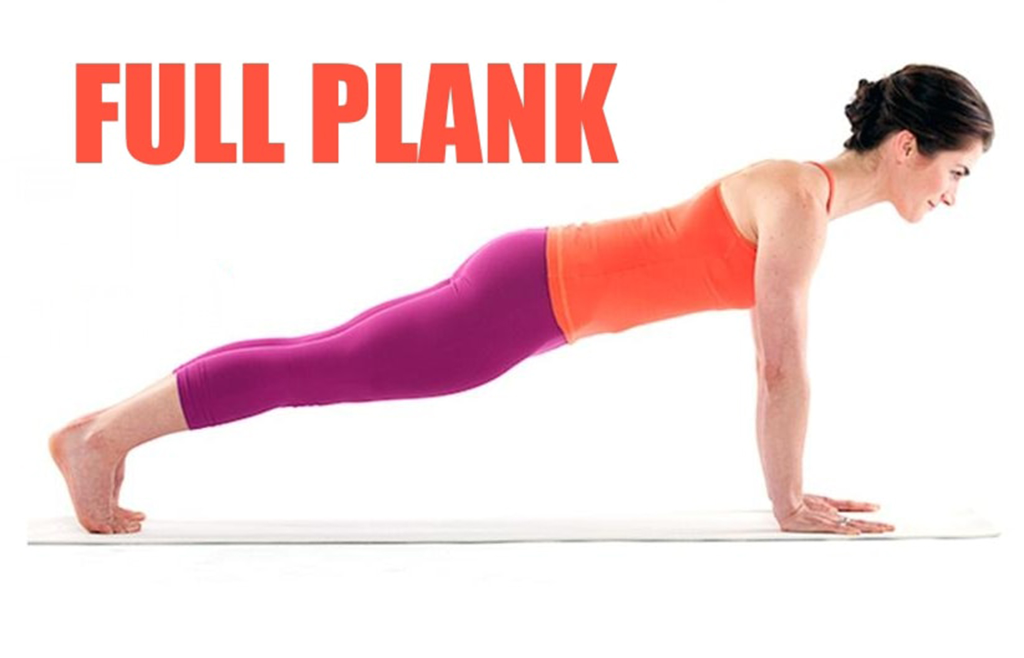 5 minute no movement plank workout for abs back for Plank workout results