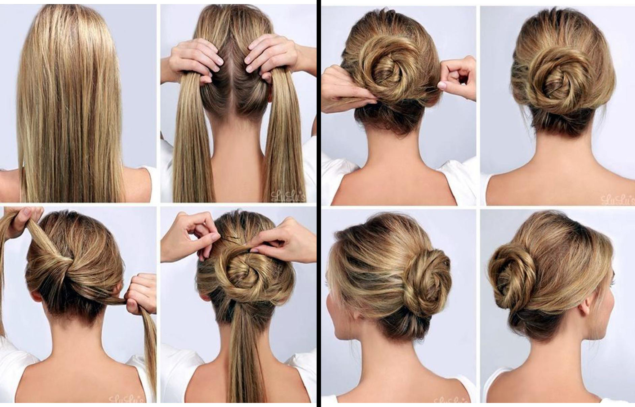 how to make hair style bun step by step tutorial on how to make a twisted bun 5146