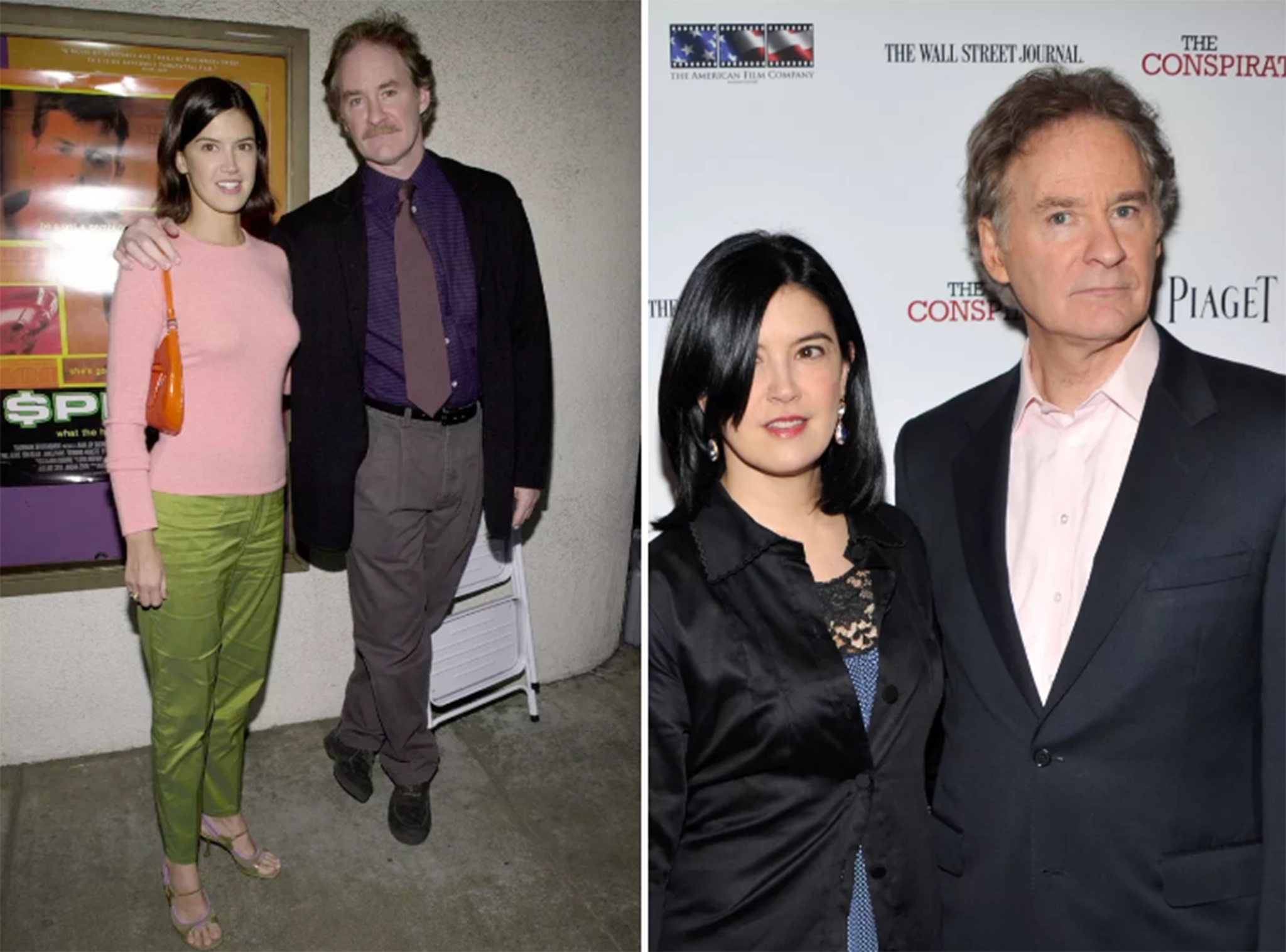 12 celebrity couples who prove love can last a lifetime for Phoebe cates and kevin kline wedding photos