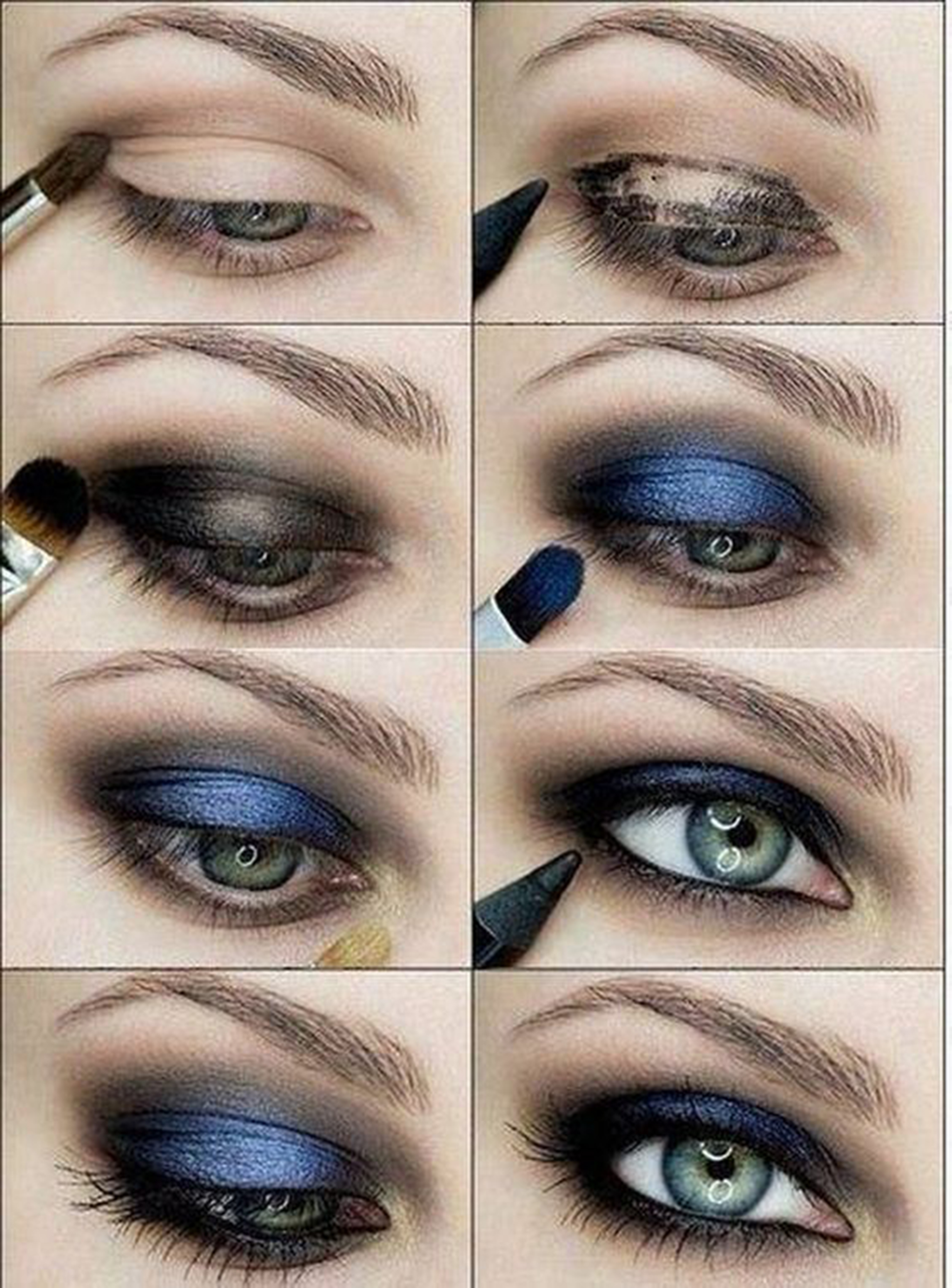 8 easy smokey eye makeup tutorials for beginners 2 baditri Images