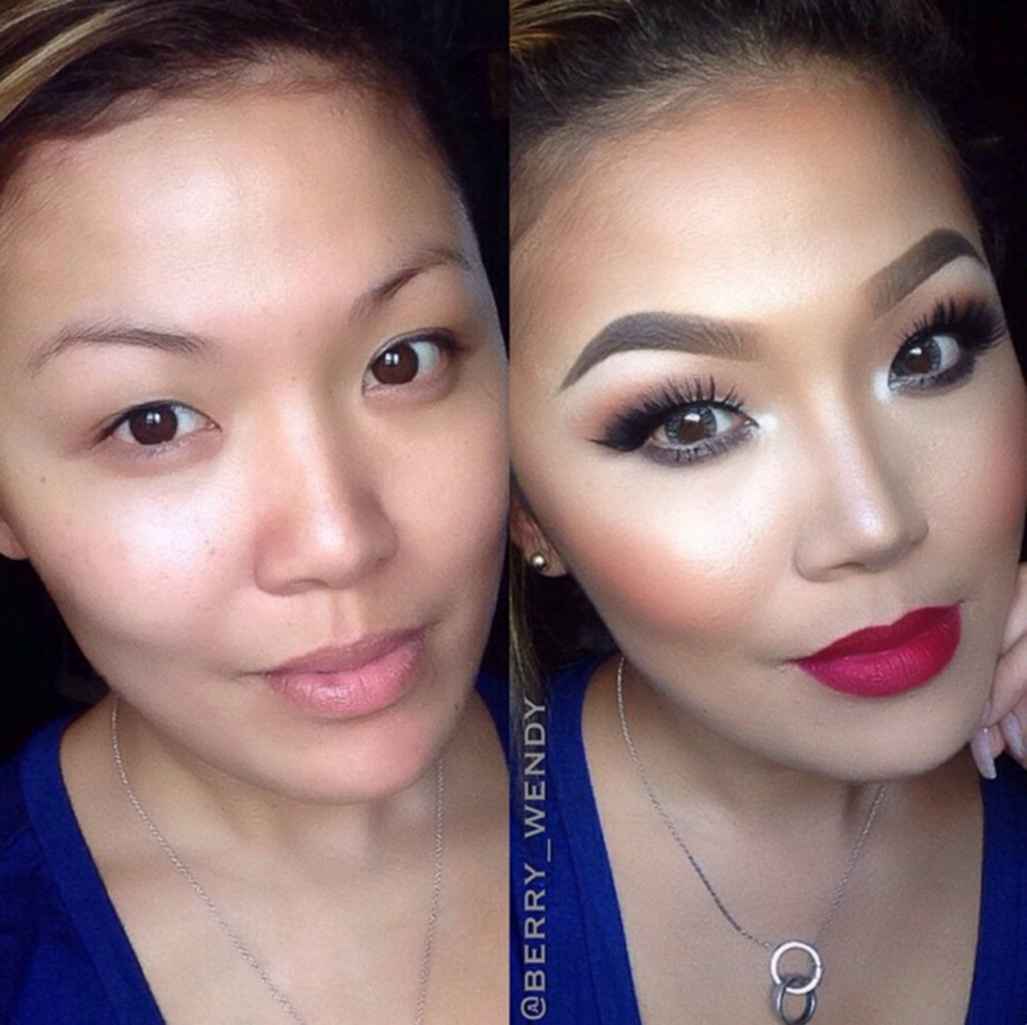 16 Before And After Makeup Transformations Photos