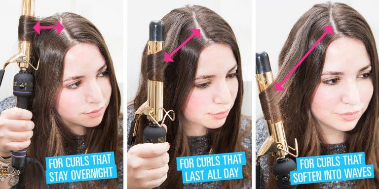 Как сделать чтобы кудри держались на длинных волосах 57