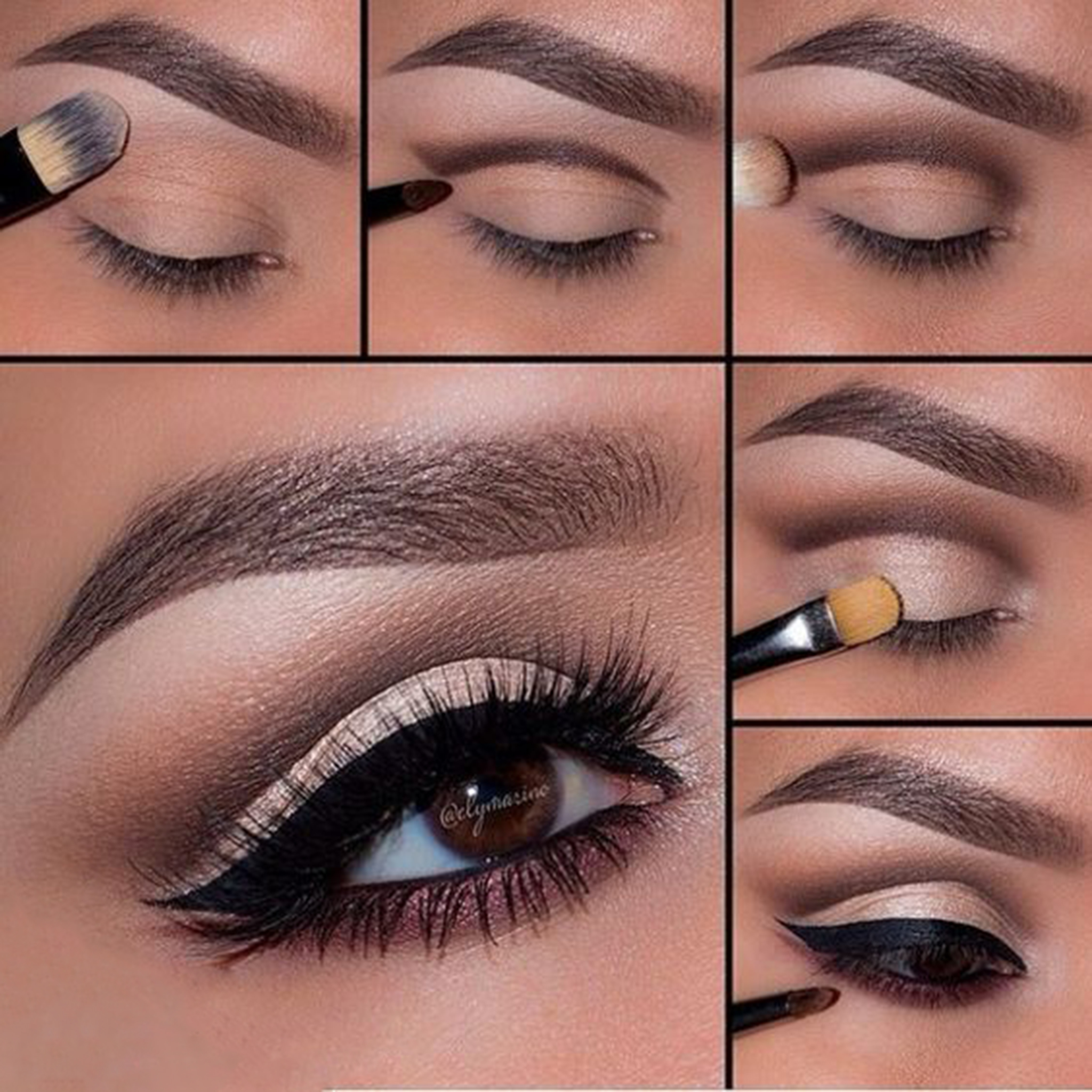 5 step by step smokey eye makeup tutorials for beginners – gymbuddy now