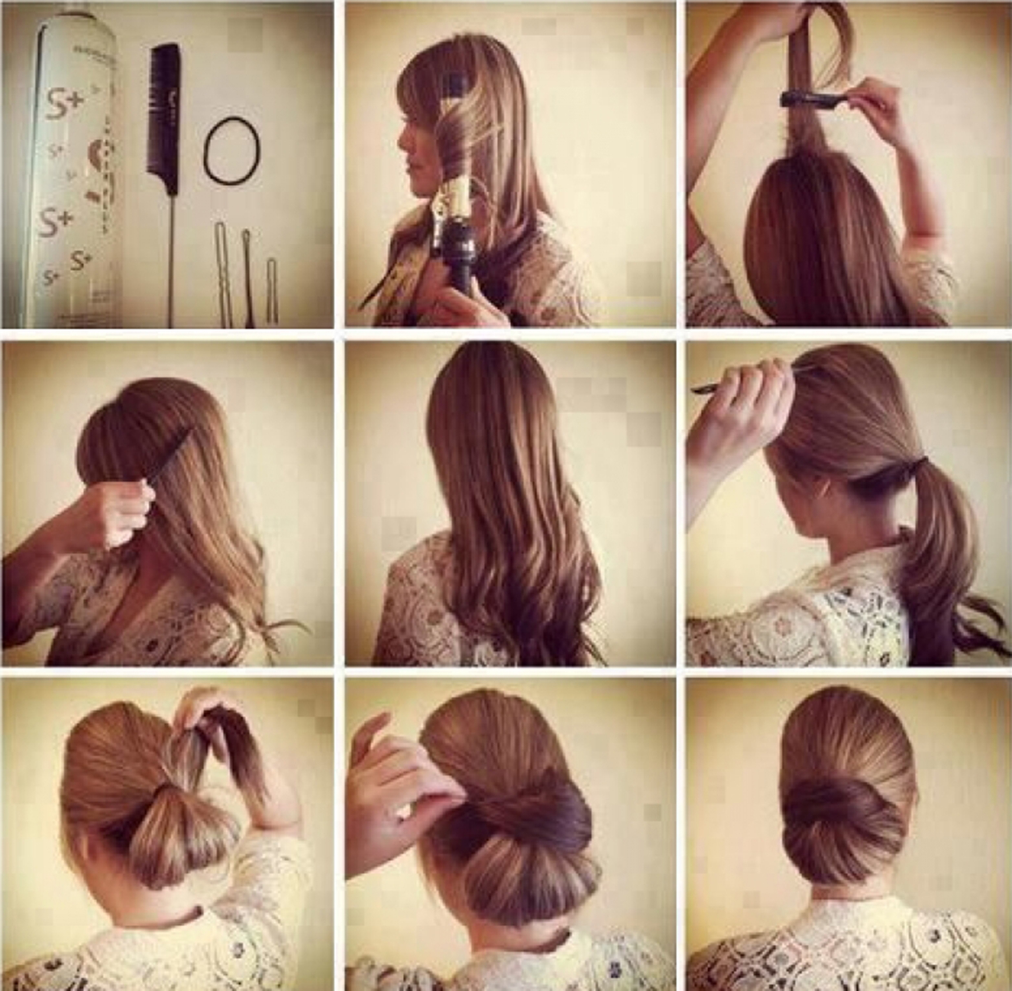 Amazing Hair Bun Tutorials To Give You Glamorous Look In Just - Hairstyle bun tutorials