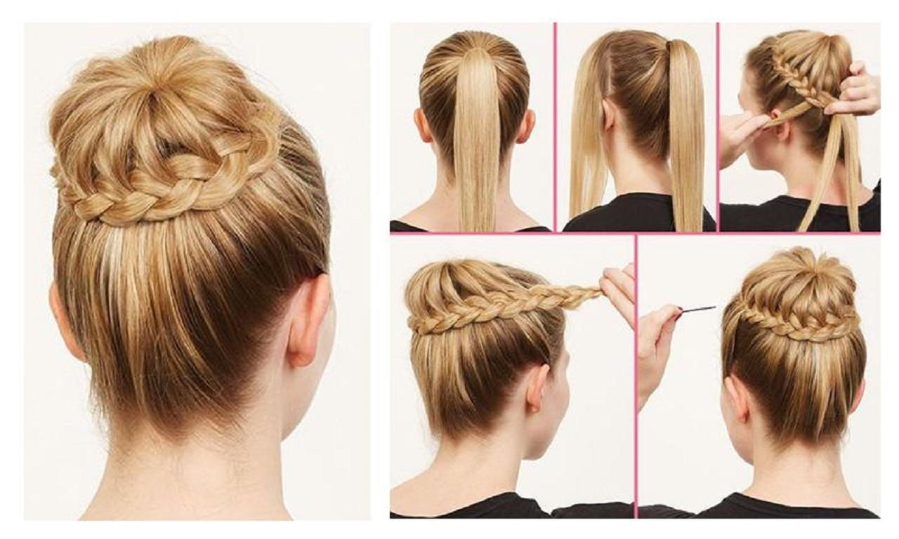 How to make a hairstyle with a bandage with your own hands Hairstyle with a bandage: with bangs and without, Greek, Roman, Egyptian 23