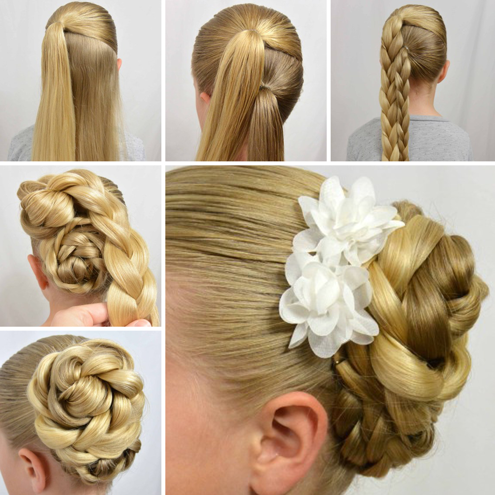 Easy Step By Step Tutorials On How To Do Braided Hairstyle (10 Hairstyles)
