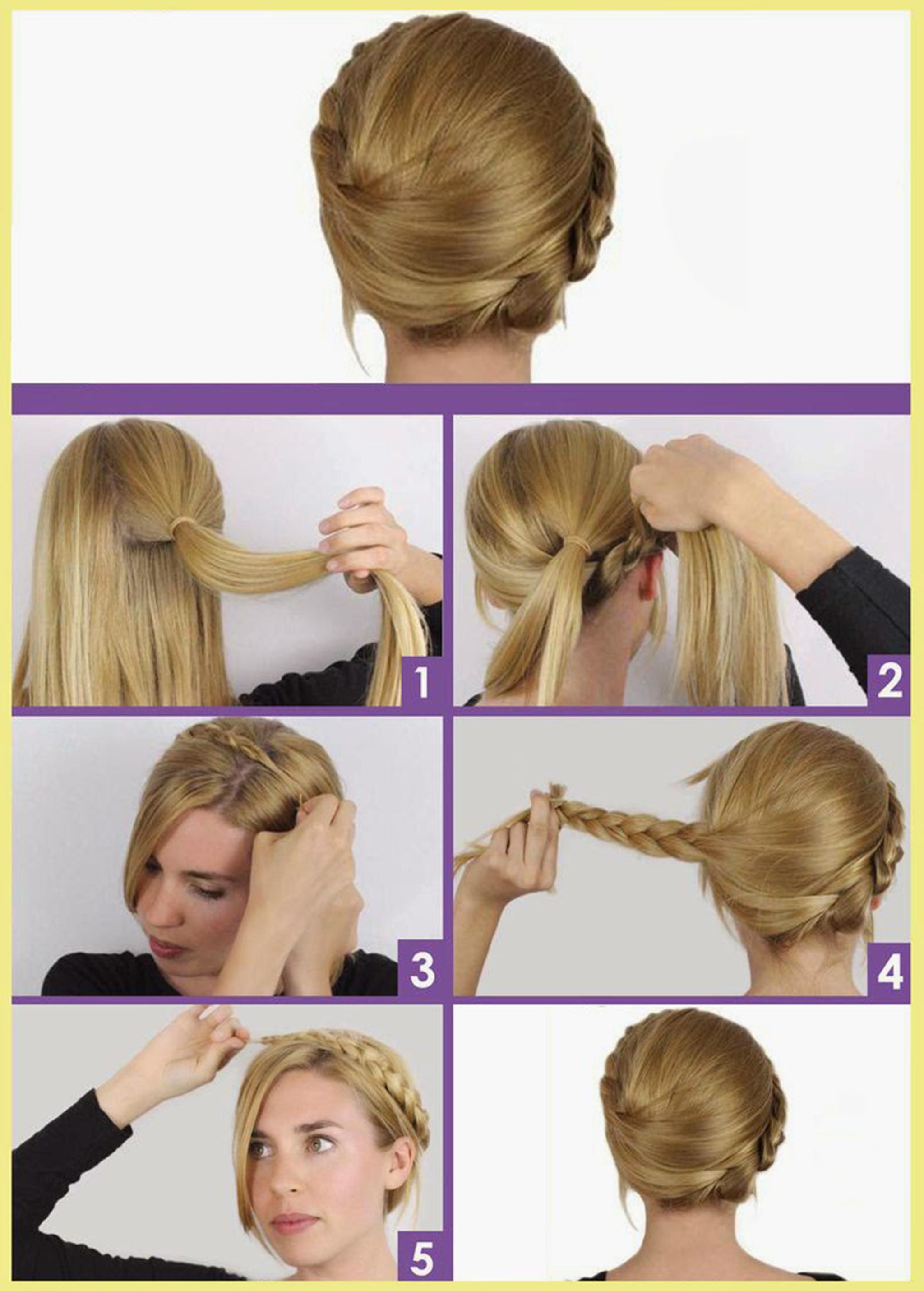 7 easy and creative dutch braid hair tutorials 1 baditri Gallery