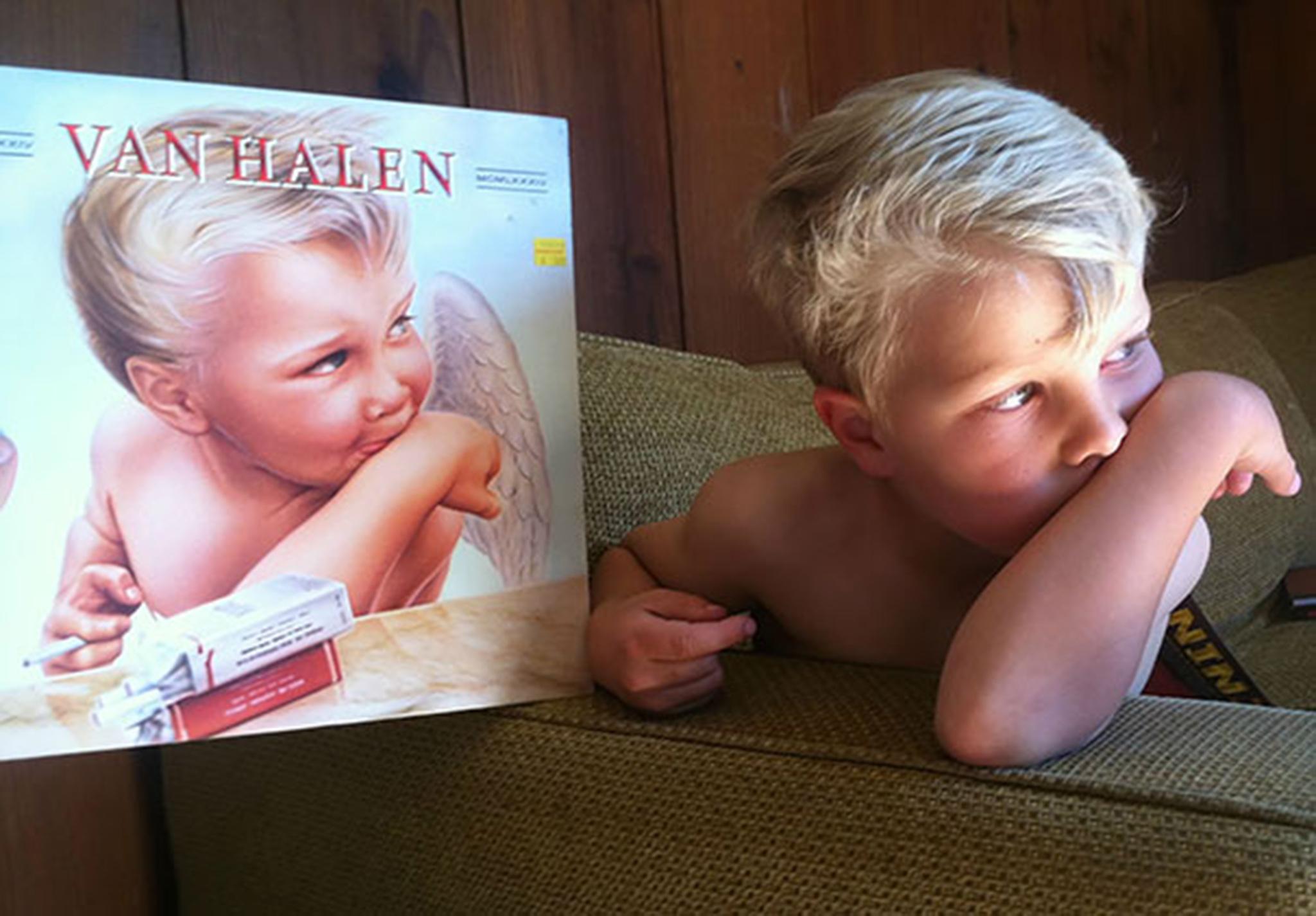 12 Van Halen Album And This Kid