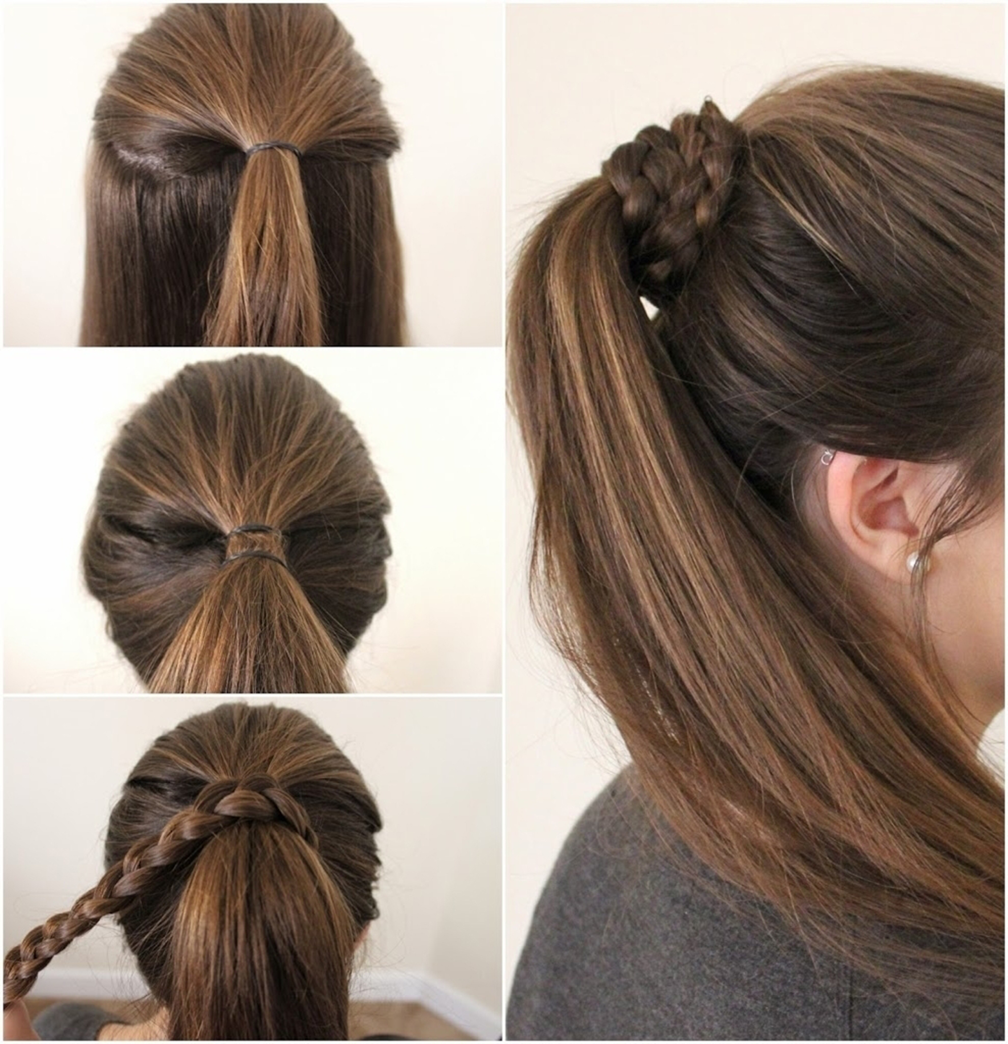 Simple Hairstyles For Girls New Simple Hairstyle For Girls Step - Gymbuddy Now