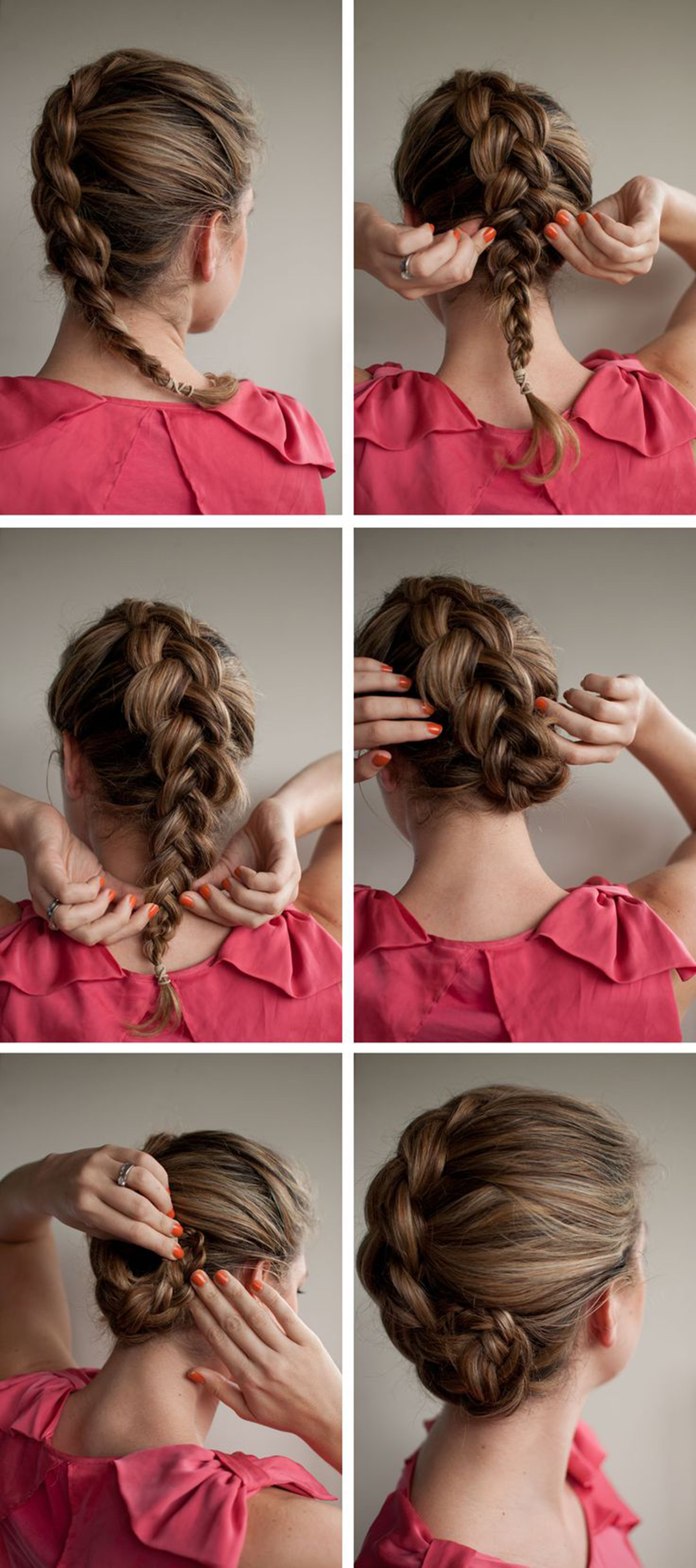 hair styles braids step by step easy step by step tutorials on how to do braided hairstyle 3373