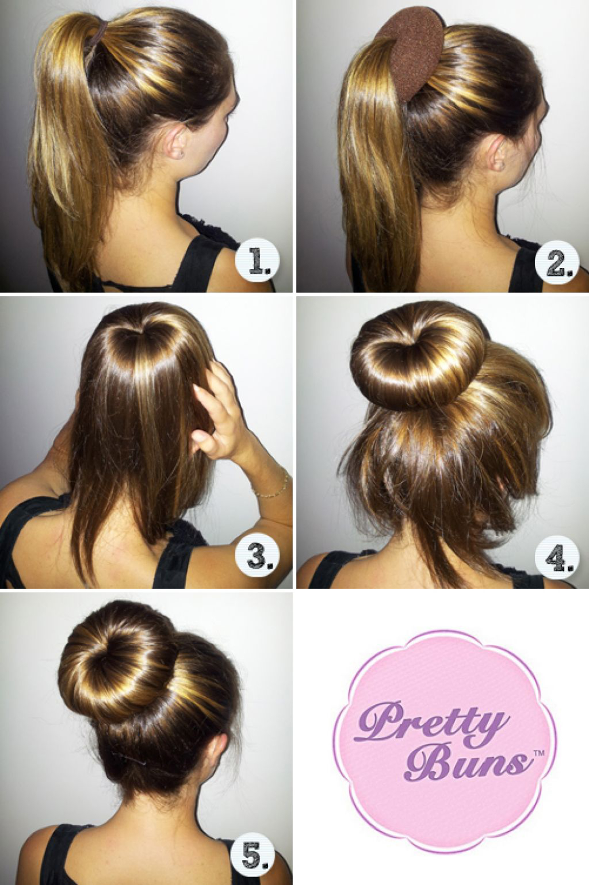 how to put your hair in a cute messy bun
