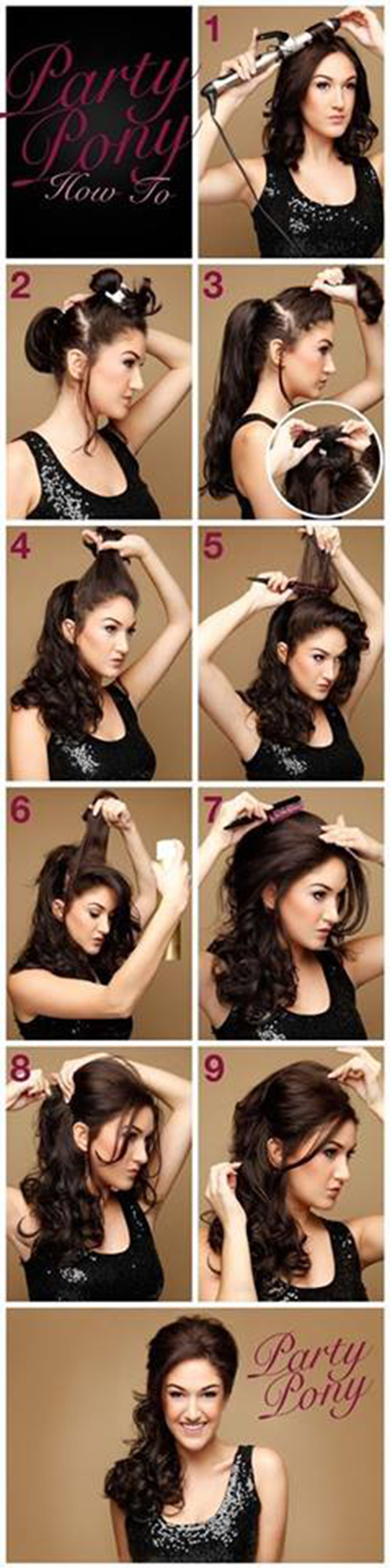 10 Easy Quick Hairstyles For Parties Step By Step Tutorial Gymbuddy Now