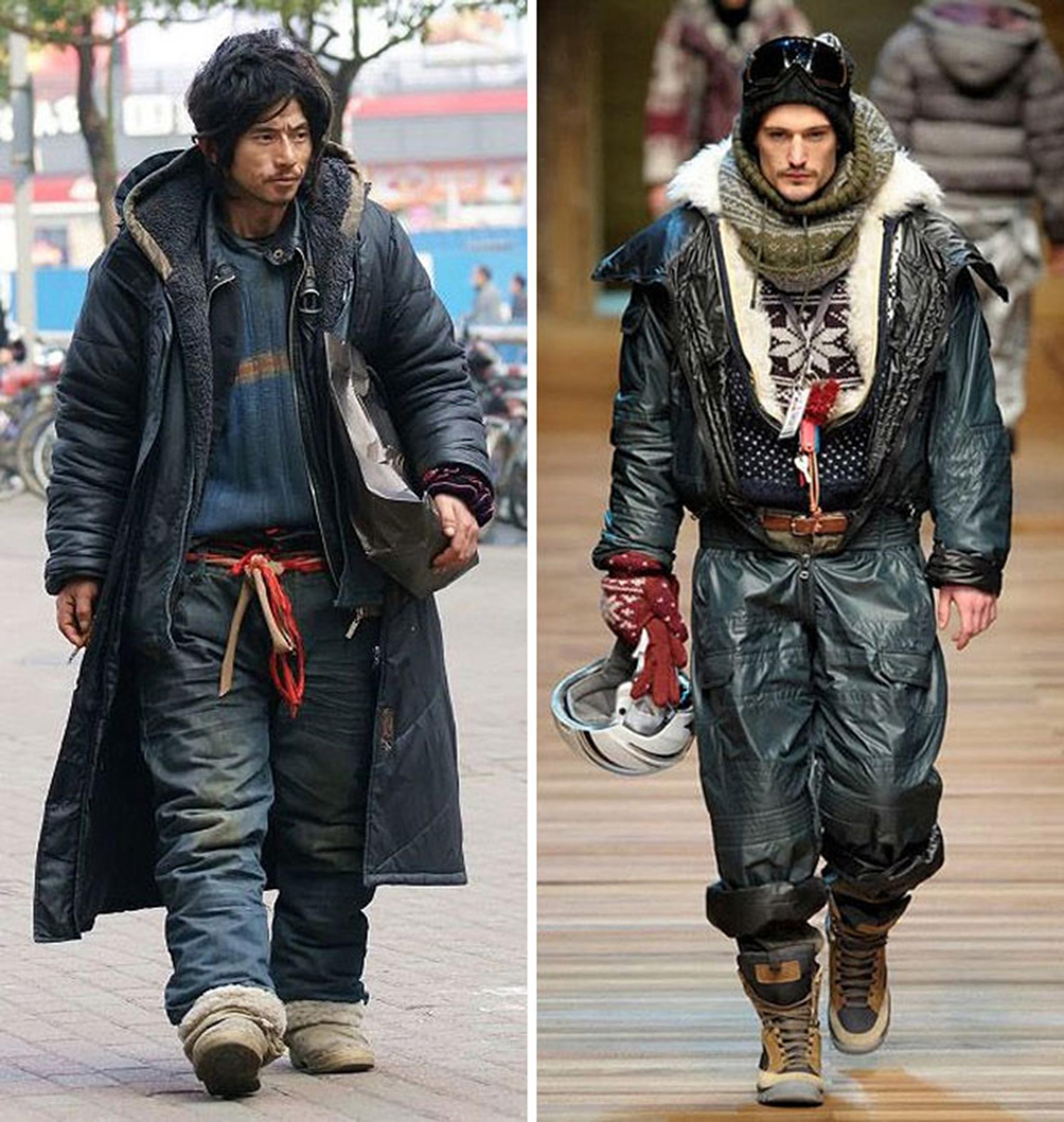 3 Homeless Guy Looks Like High Fashion Model