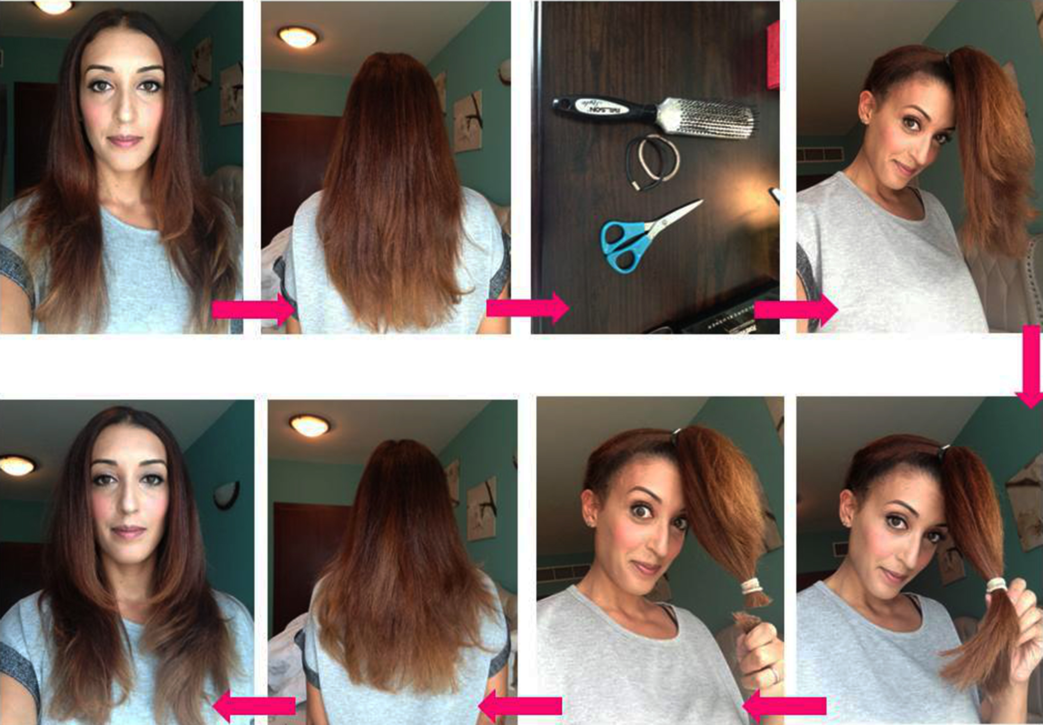 5 Easy Ways To Layer Cut Your Own Hair At Home Gymbuddy Now