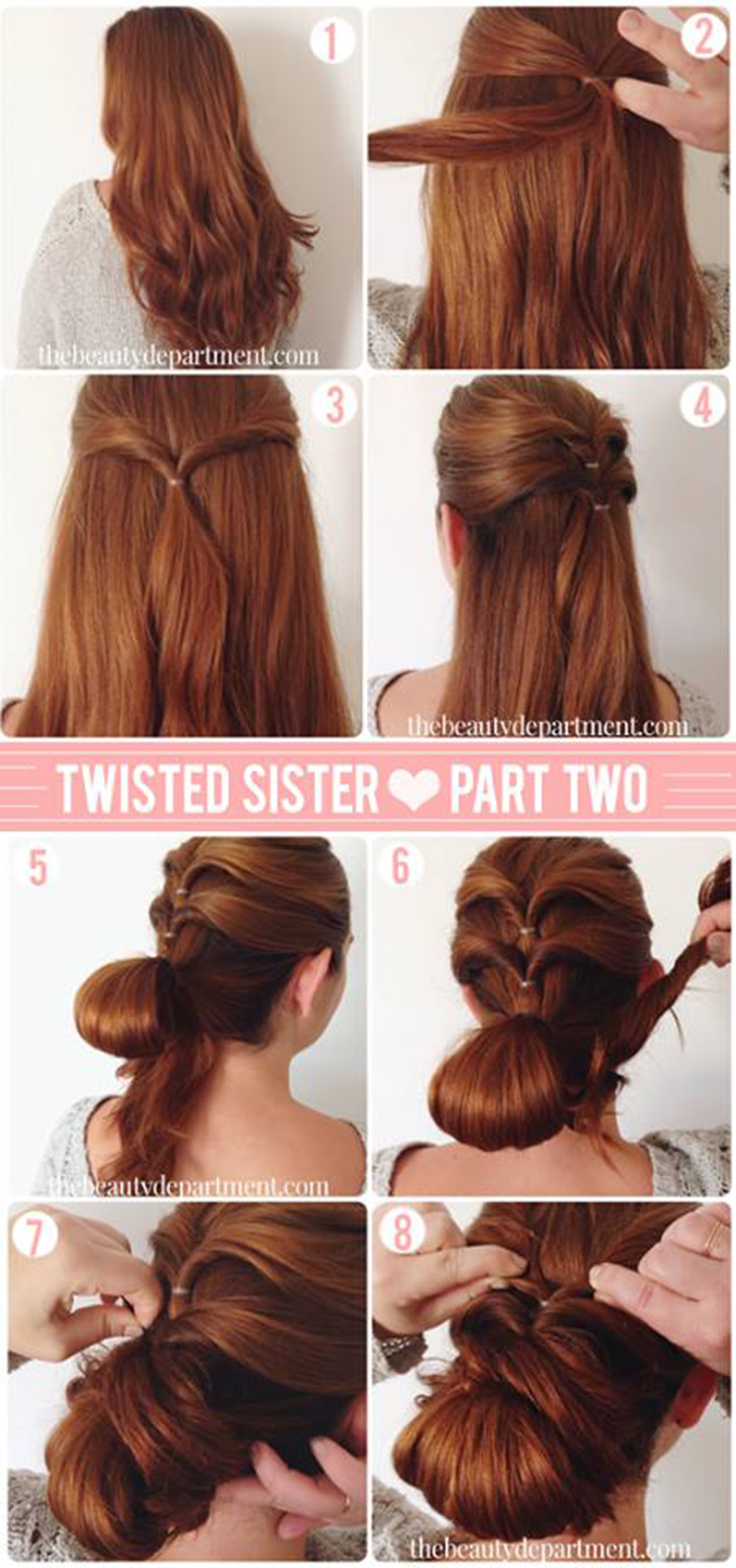 10+ easy & quick hairstyles for parties – step by step tutorial