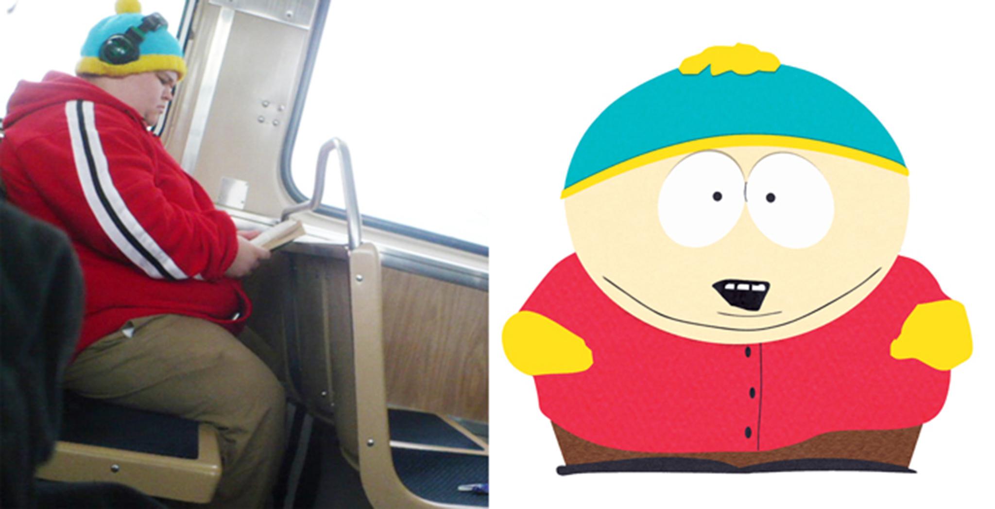4 Real Life Cartman