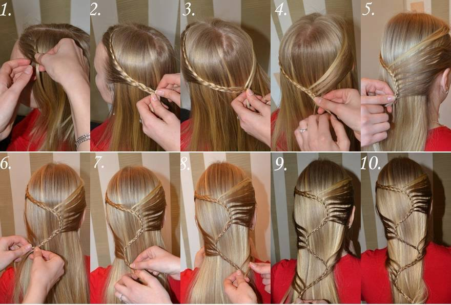 hair styles tied up 12 most beautiful hairstyles you will easy step by 4664 | 6 56