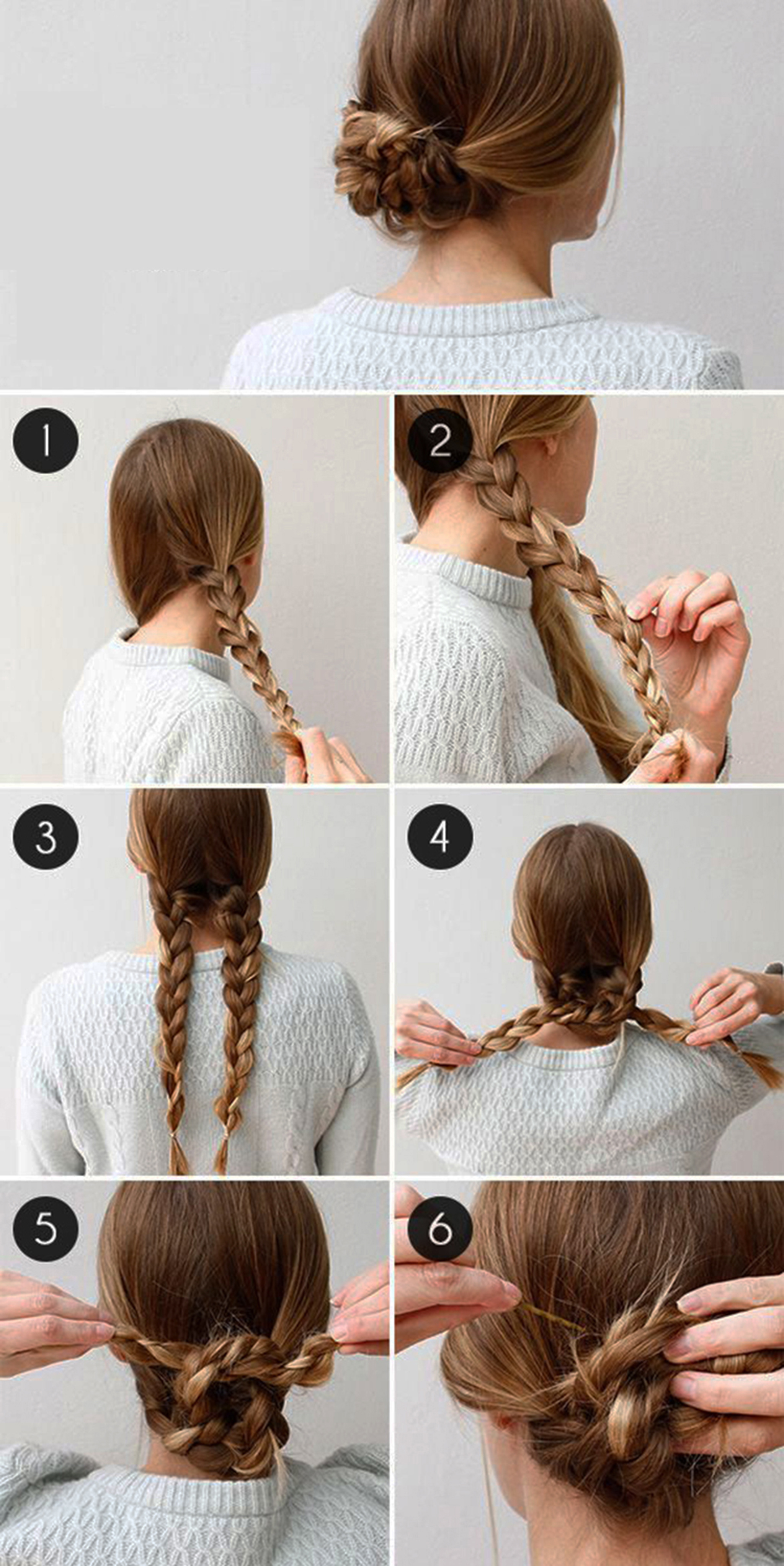 Easy Step By Step Tutorials On How To Do Braided Hairstyle ...