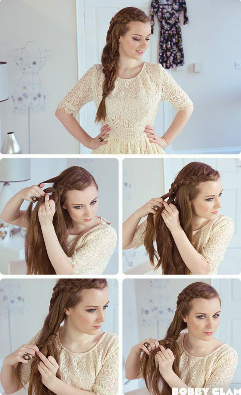Top 10 Quick & Easy Braided Hairstyles Step By Step ...