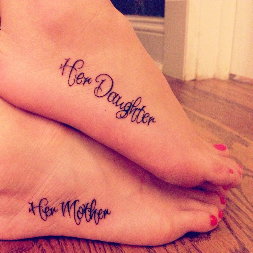 ФОТО. Дочки-матери: 10 идей для одинаковых татуировок - DELFI