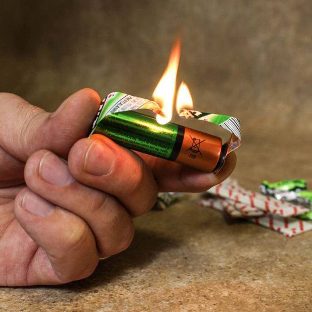 Разжигаем огонь без спичек. 12 способов 95
