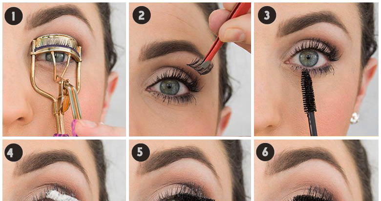 Safe eye makeup