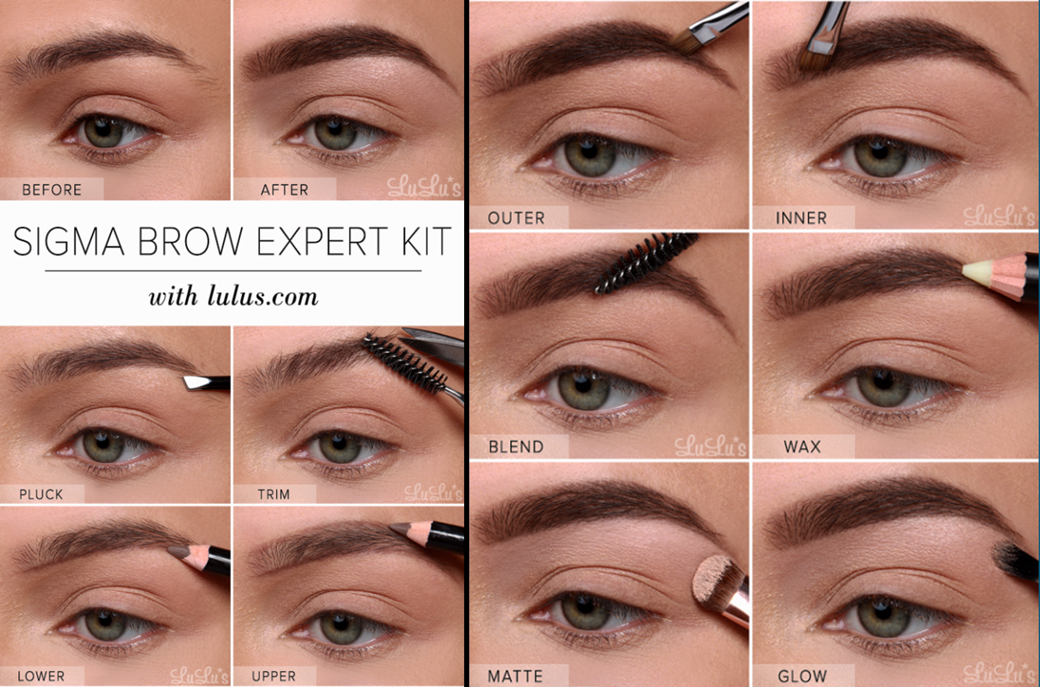 Sigma Brow Expert Kit Eyebrow
