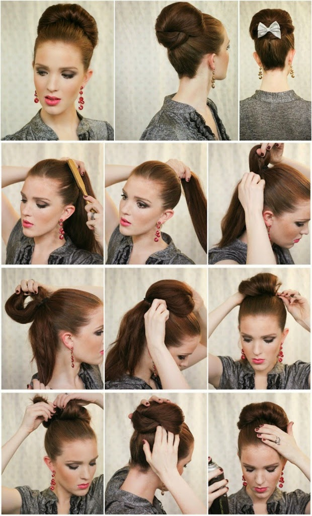 8 Best And Glamorous Bun Hairstyle Tutorials That You Must Make It