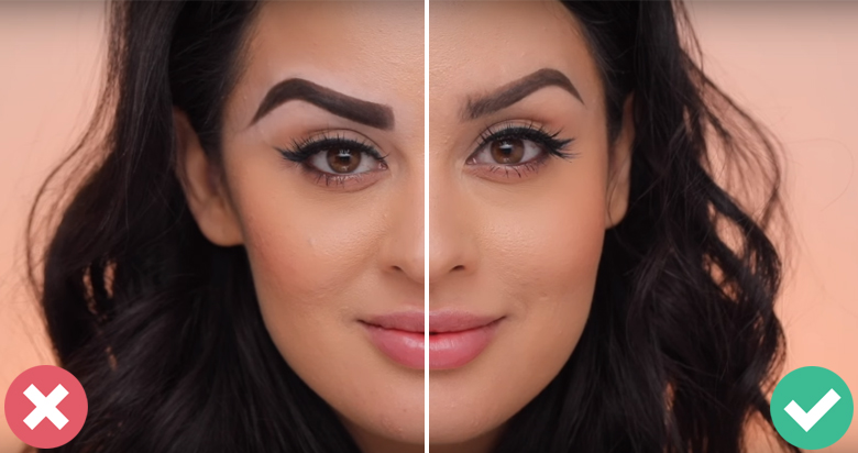 10 Silly Eyebrow Mistakes You Don't Know You're Making