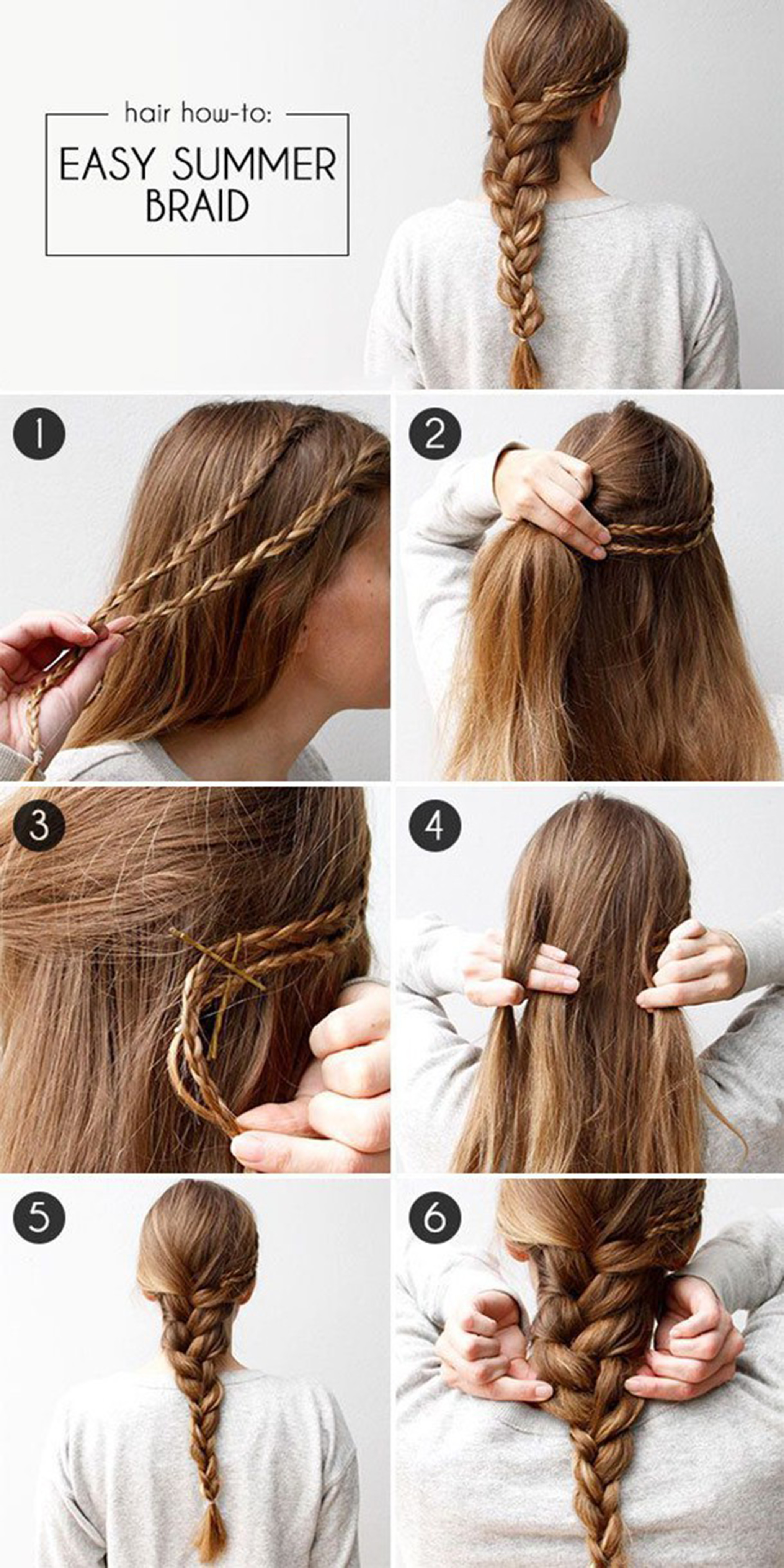 15 Most Beautiful Hairstyles You Will Love – Easy Step By