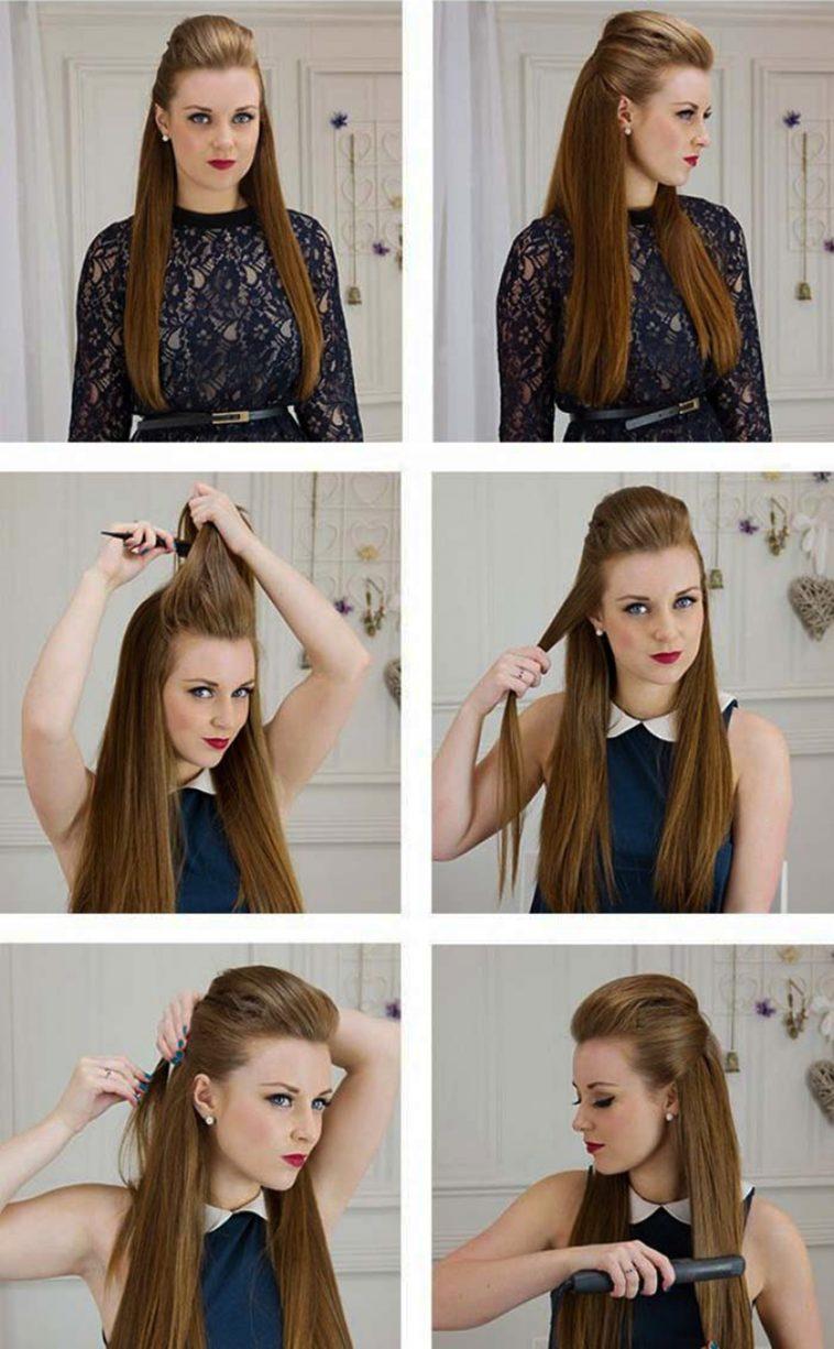 Как сделать объемные волосы на весь день