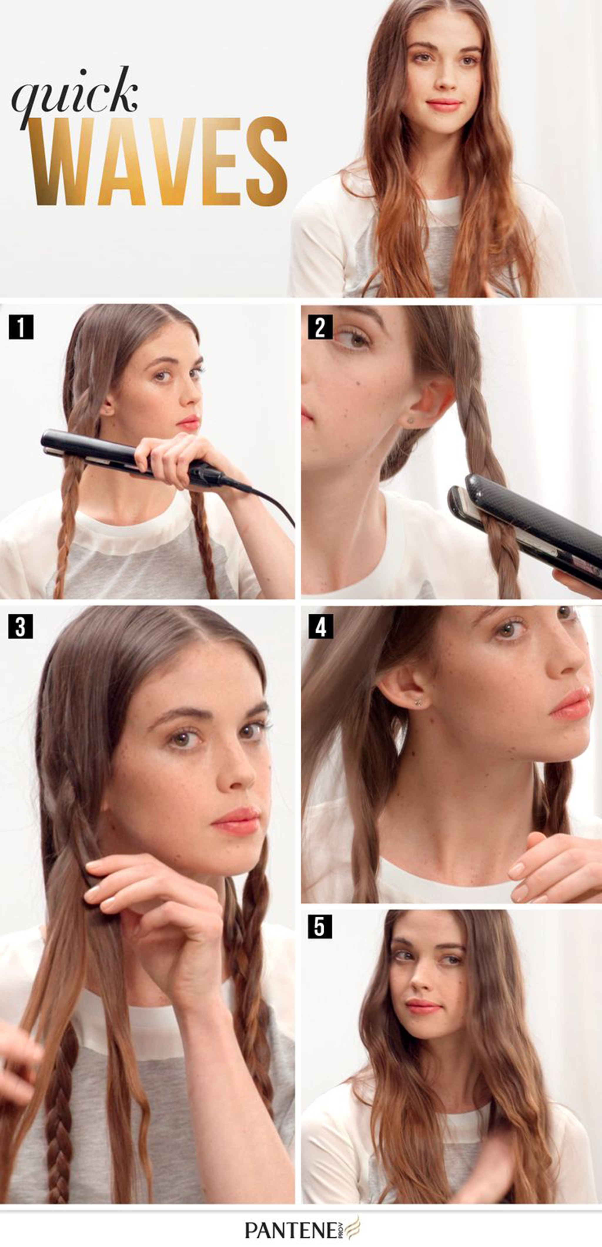 How to make waves on the hair 45