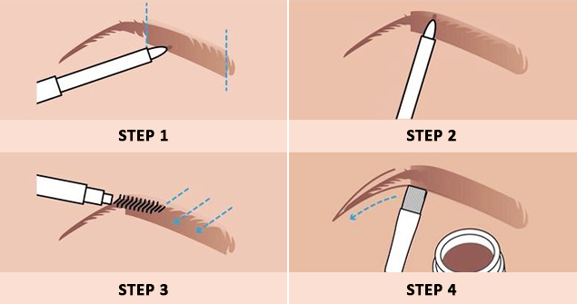 Easy Steps To Make The Perfectly Shaped Eyebrows Without