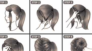 10+ Easy & Quick Hairstyles For Parties - Step By Step Tutorial