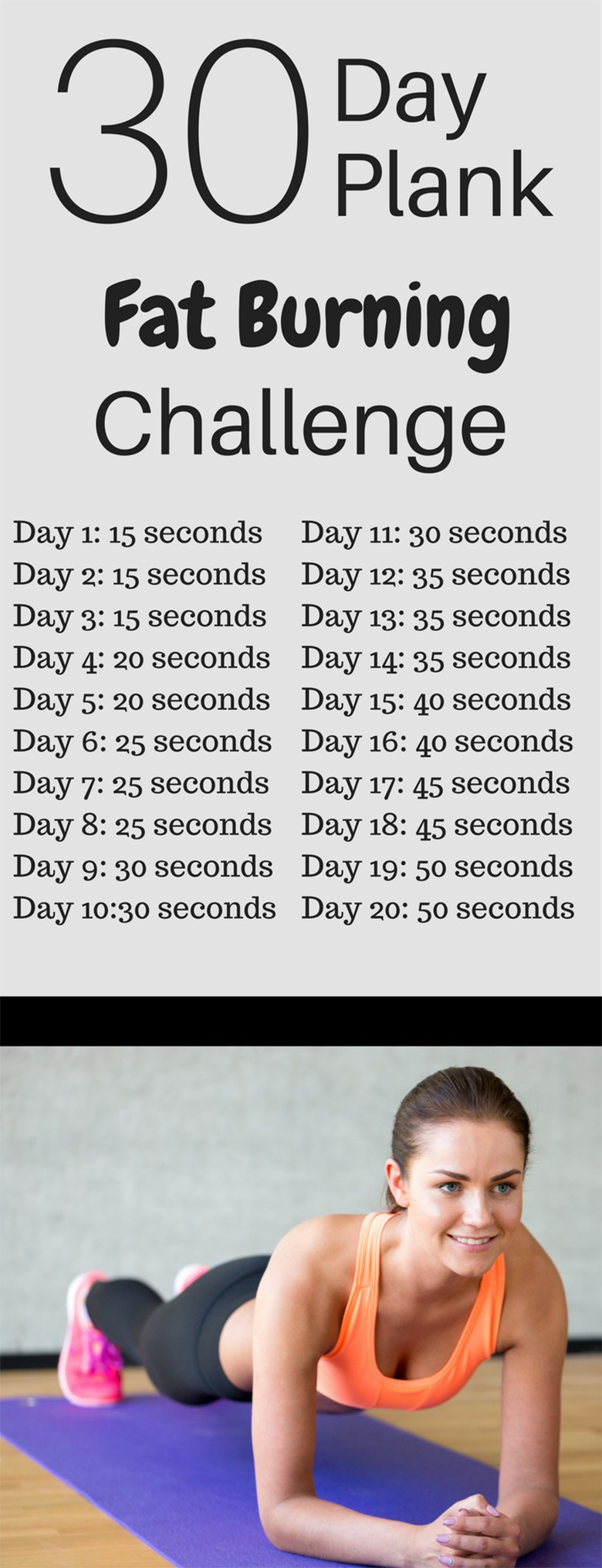 Try The 30 Day Plank Challenge For Beginners – Plank ...