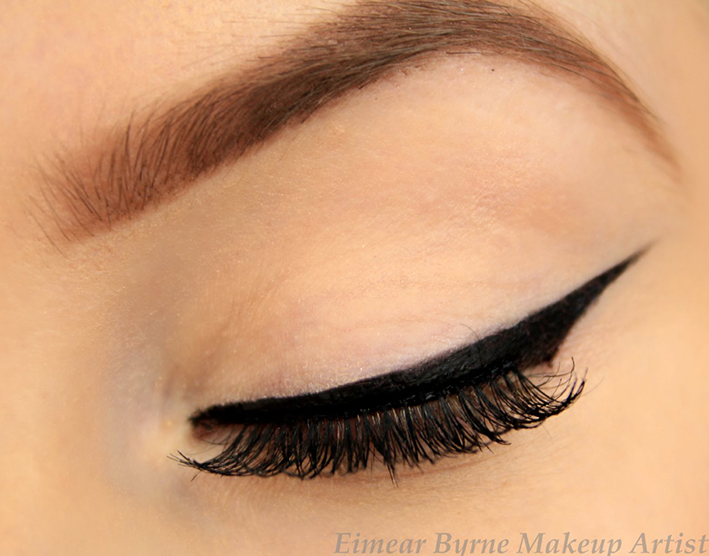 Outline With Pencil Eyeliner