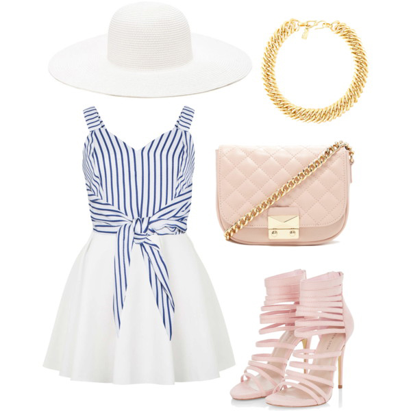 Polyvore Beach Party Dress