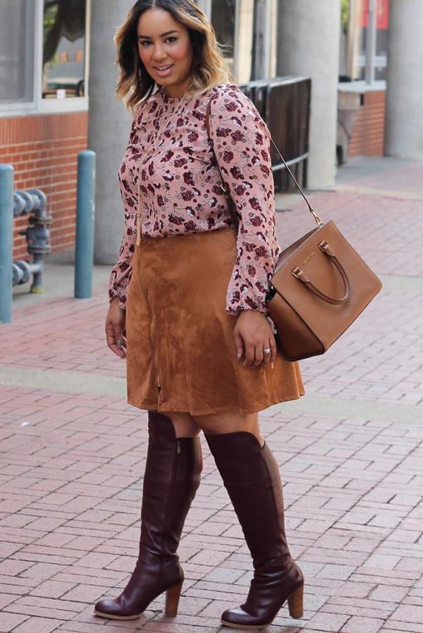 40 Plus Size Fashion Outfits Inspiration - EcstasyCoffee