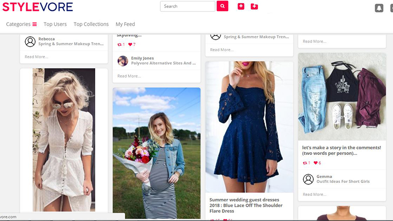 1e62096231ad Discover the joy of designing your own wardrobe with fashion outfits at hottest  fashion spot called Stylevore. Experiment